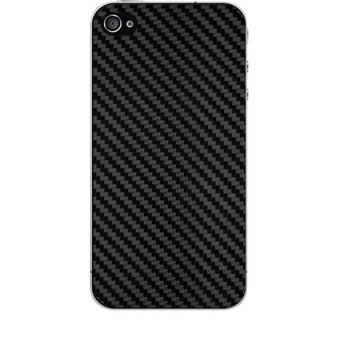 Black Carbon Fiber Texture For APPLE IPHONE 4 Skin