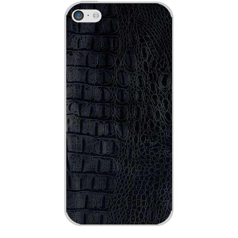 Black Leather Texture For APPLE IPHONE 5C Skin
