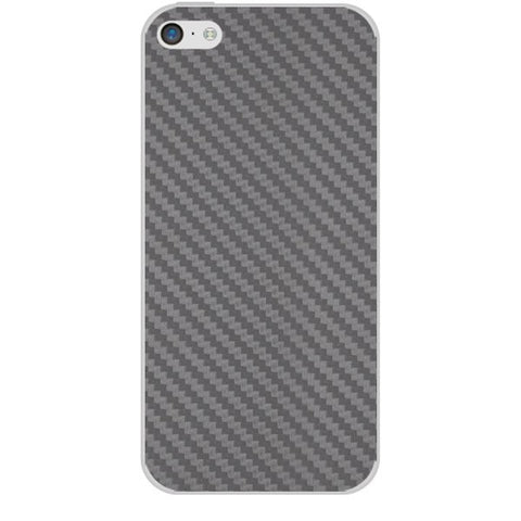 Silver Carbon Fiber Texture For APPLE IPHONE 5C Skin