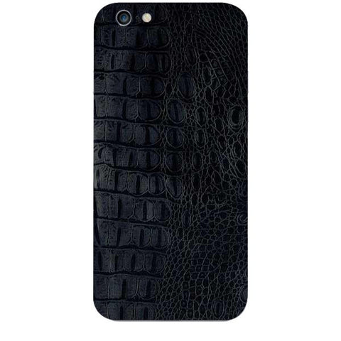 Black Leather Texture For APPLE IPHONE 6S Skin