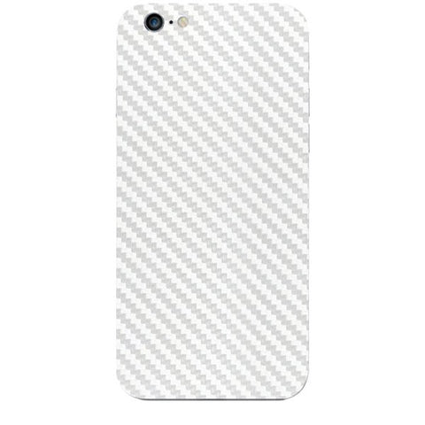 White Carbon Fiber Texture For APPLE IPHONE 6S Skin