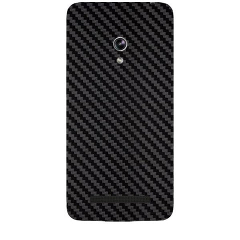 Black Carbon Fiber Texture For ASUS ZENPONE 5 Skin