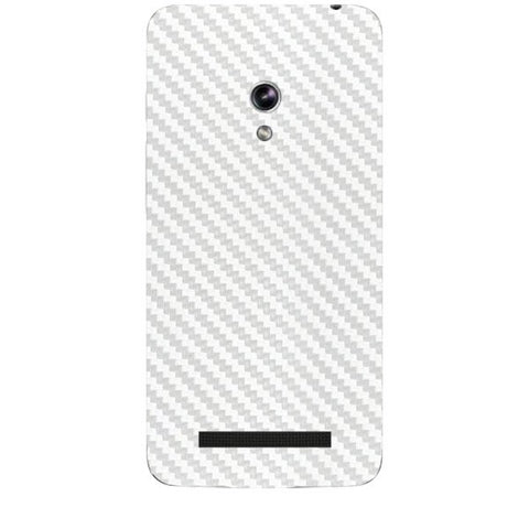 White Carbon Fiber Texture For ASUS ZENPONE 5 Skin