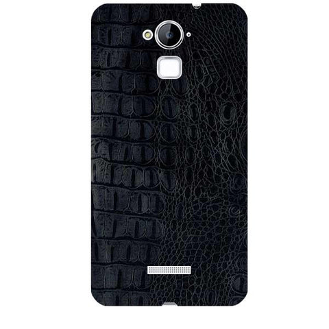 Black Leather Texture For COOLPAD NOTE 3 Skin