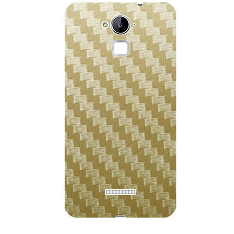 Golden Carbon Fiber Texture For COOLPAD NOTE 3 Skin