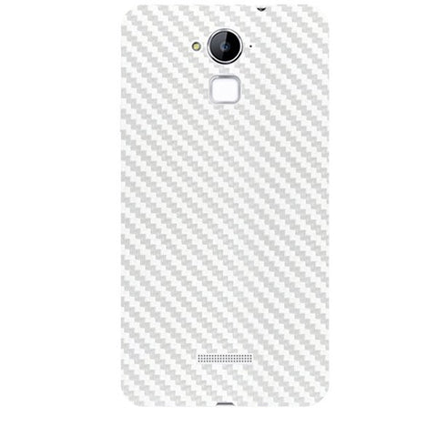 White Carbon Fiber Texture For COOLPAD NOTE 3 Skin