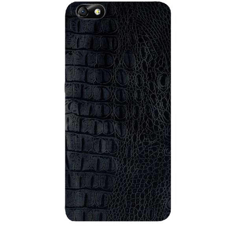 Black Leather Texture For HUAWEI HONOR 4X (ONLY BACK) Skin