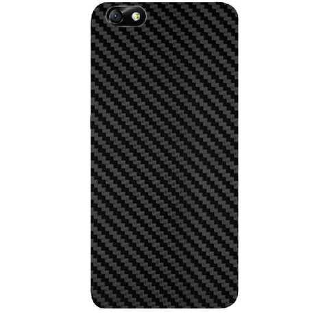Black Carbon Fiber Texture For HUAWEI HONOR 4X (ONLY BACK) Skin
