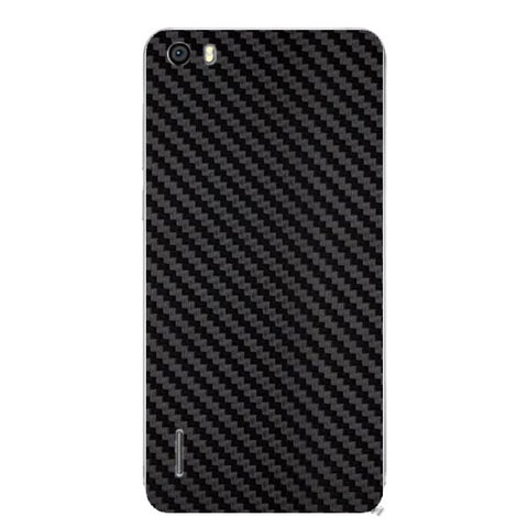 Black Carbon Fiber Texture For HUAWEI HONOR 6 PLUS Skin