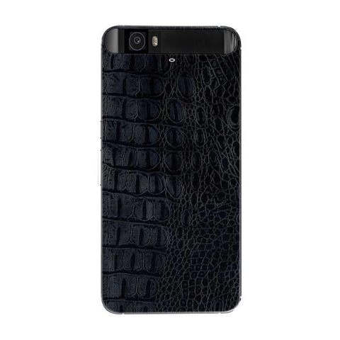 Black Leather Texture For GOOGLE NEXUS 6P Skin