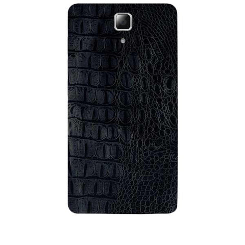 Black Leather Texture For LENOVO A536 Skin