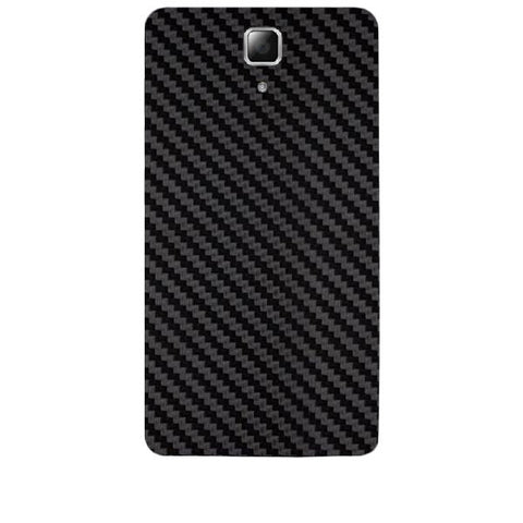 Black Carbon Fiber Texture For LENOVO A536 Skin
