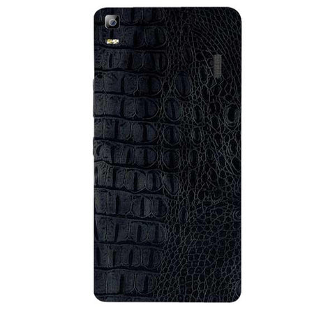 Black Leather Texture For LENOVO A7000 Skin