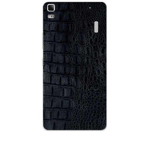 Black Leather Texture For LENOVO K3 NOTE Skin