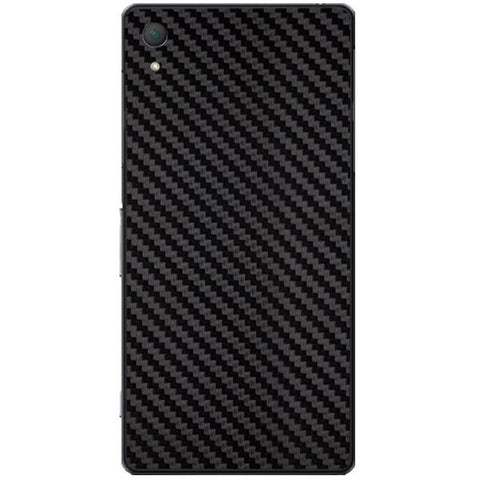 Black Carbon Fiber Texture For SONY XPERIA Z2 (L50w) Skin