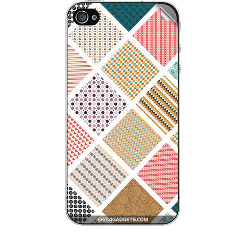 Varied Pattern For APPLE IPHONE 4S Skin