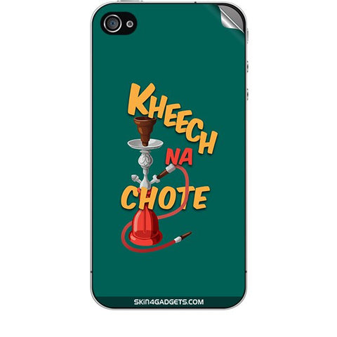 Kheech na Chote For APPLE IPHONE 4S Skin