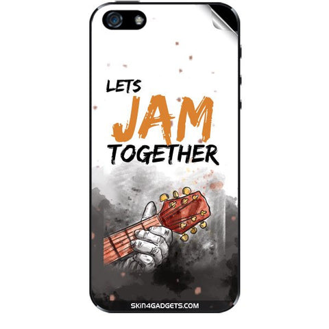 Lets Jam Together For APPLE IPHONE 5 Skin