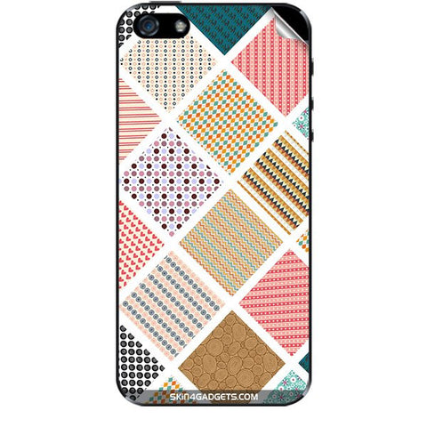 Varied Pattern For APPLE IPHONE 5 Skin