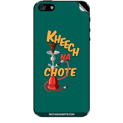 Kheech na Chote For APPLE IPHONE 5 Skin