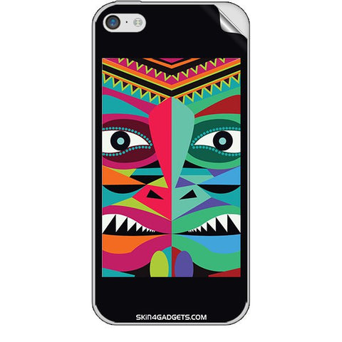 Tribal Face For APPLE IPHONE 5C Skin