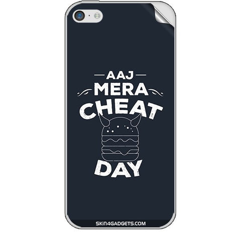 Aaj Mera Cheat Day For APPLE IPHONE 5C Skin