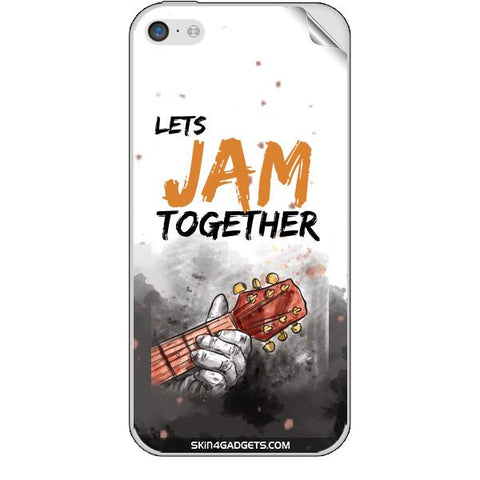 Lets Jam Together For APPLE IPHONE 5C Skin
