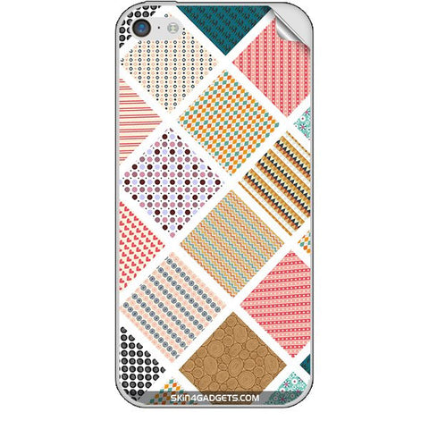 Varied Pattern For APPLE IPHONE 5C Skin