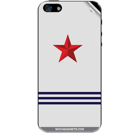 Star Strips For APPLE IPHONE 5S Skin