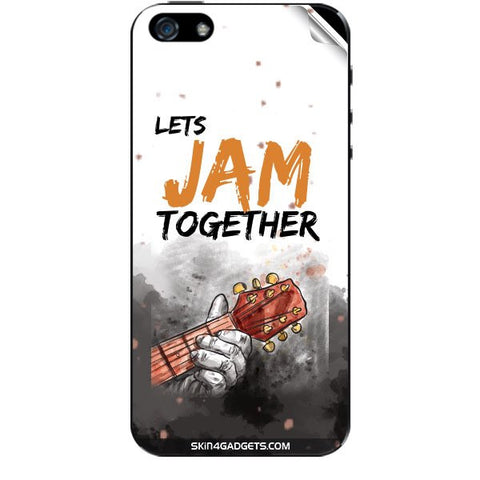 Lets Jam Together For APPLE IPHONE 5S Skin