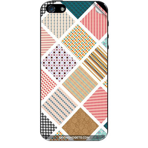 Varied Pattern For APPLE IPHONE 5S Skin