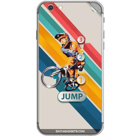 1 2 3 Jump For APPLE IPHONE 6S Skin - skin4gadgets
