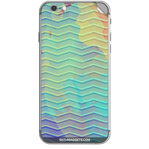 Colourful Waves For APPLE IPHONE 6S PLUS Skin