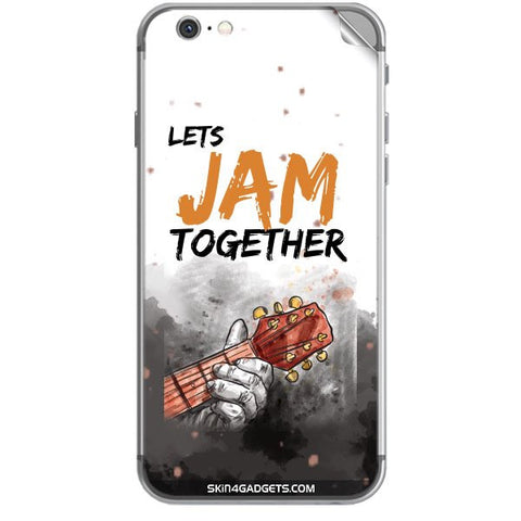 Lets Jam Together For APPLE IPHONE 6S PLUS Skin