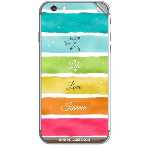 Lets Love Life For APPLE IPHONE 6S PLUS Skin
