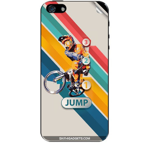 1 2 3 Jump For IPHONE SE Skin