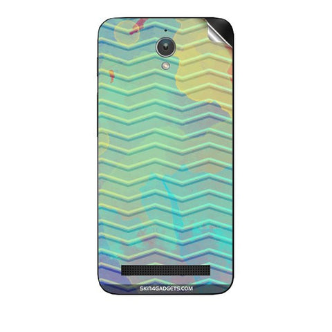 Colourful Waves For ASUS ZENFONE SELFIE Skin
