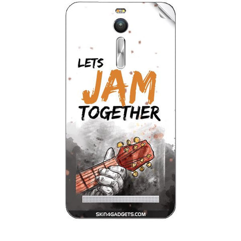 Lets Jam Together For ASUS ZENFONE 2 Skin