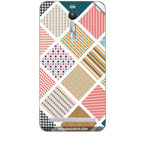 Varied Pattern For ASUS ZENFONE 2 Skin