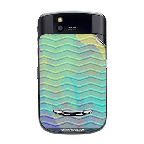 Colourful Waves For BLACKBERRY 9630 Skin