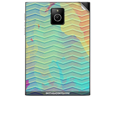 Colourful Waves For BLACKBERRY PASSPORT Skin
