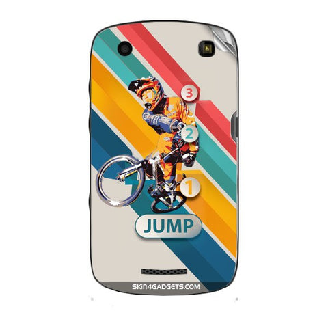 1 2 3 Jump For BLACKBERRY CURVE 9360 Skin - skin4gadgets