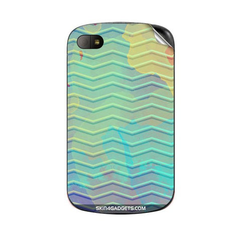 Colourful Waves For BLACKBERRY Q10 Skin