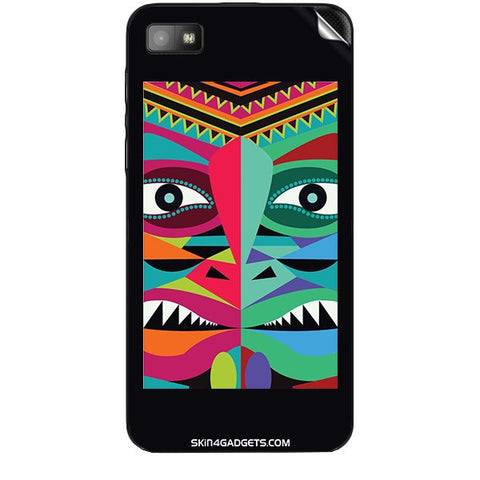 Tribal Face For BLACKBERRY Z10 Skin