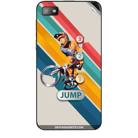 1 2 3 Jump For BLACKBERRY Z10 Skin