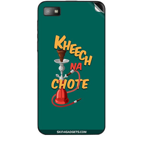Kheech na Chote For BLACKBERRY Z10 Skin