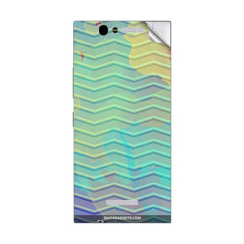 Colourful Waves For GIONEE ELIFE E7 MINI Skin