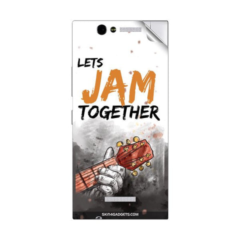 Lets Jam Together For GIONEE ELIFE E7 MINI Skin
