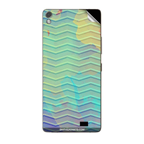 Colourful Waves For GIONEE ELIFE S7 Skin