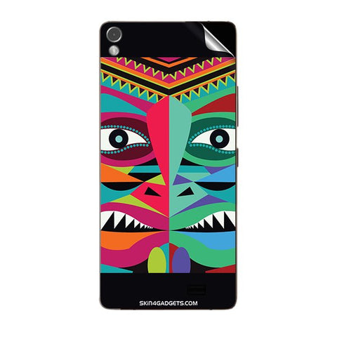 Tribal Face For GIONEE ELIFE S7 Skin
